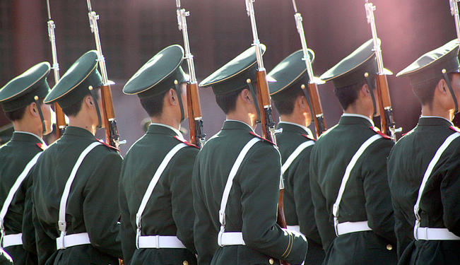 Gearing up in Asia: Military Ties and Expenditures