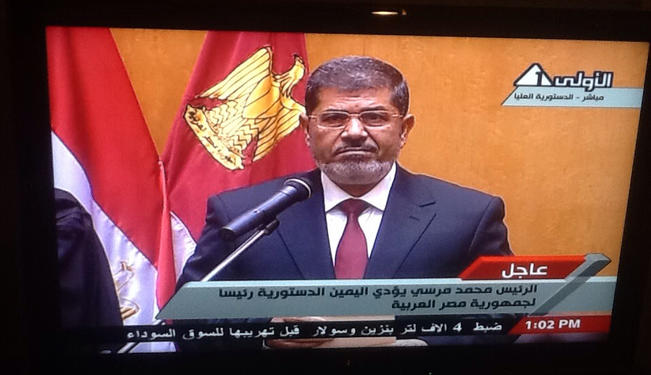 Morsi: Desperate Times Require Desperate Measures