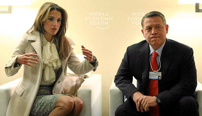 jordan king abdullah wife