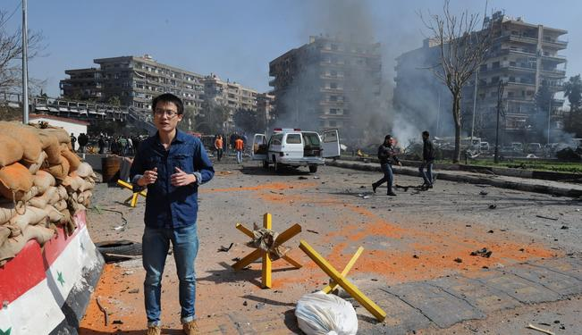 The Snipers of Damascus: Chinese Perspectives on Reporting the Syrian War