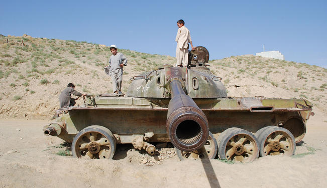 Afghan Children: Growing Up With Drones and Landmines