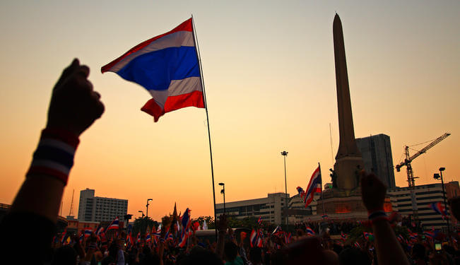 Thailand in 2014: A Democracy Endangered by Juristocracy?