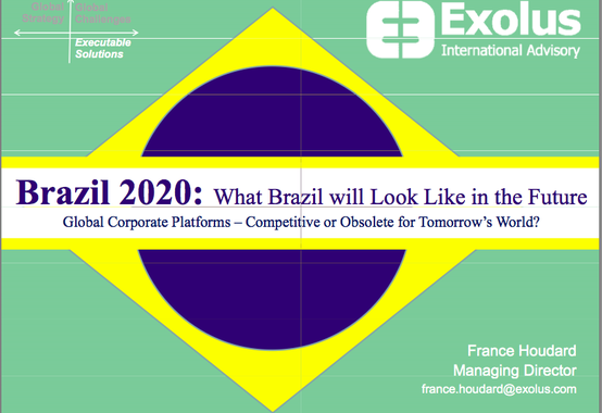 Brazil 2020: What Brazil Will Look Like in the Future