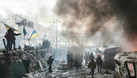 Making and Escalating the Ukrainian Civil War, West and East