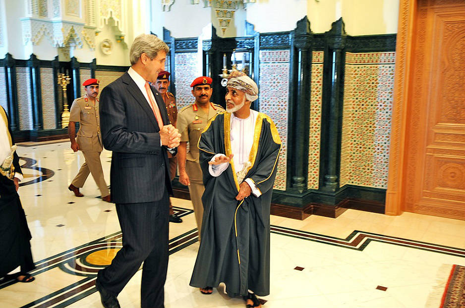 John Kerry and Sultan Qaboos / Flickr