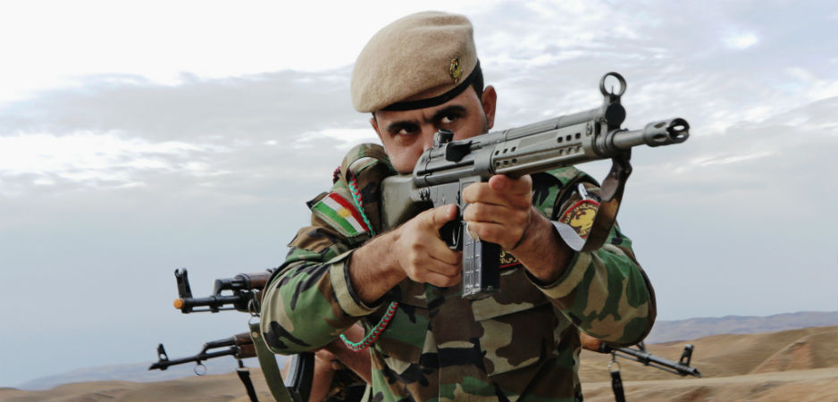 Kurdish forces