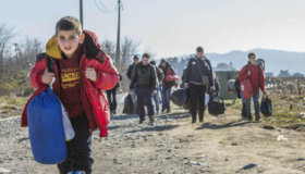 Charity Campaigns for Safety of Refugee Children