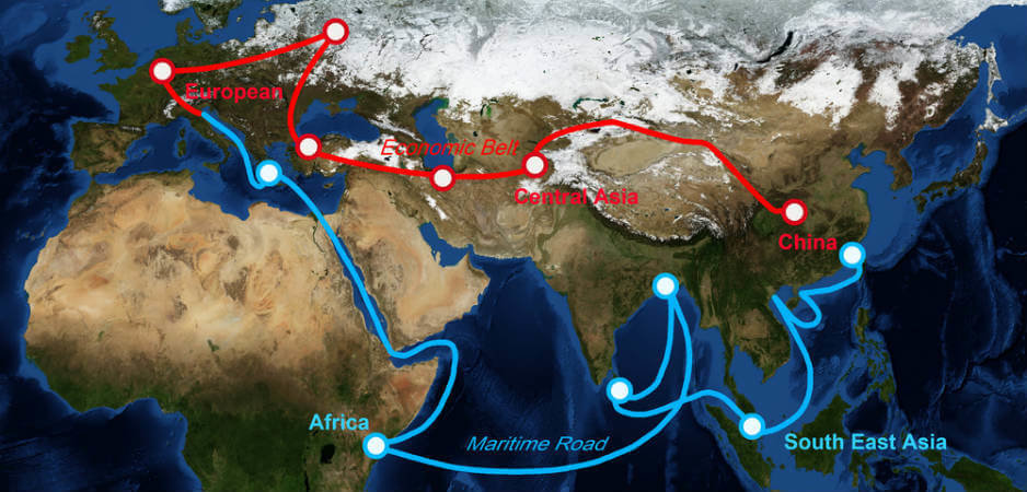 The New Silk Road news, China news, OBOR news, India news, One Belt One Road initiative news, B&RI news, China economy news, India economy news, World news analysis, economics news