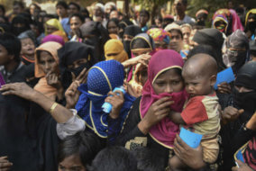 Current world news, Asia Pacific News, Aung San Suu Kyi news, Rohingya minority Myanmar news, Rohingya refugees in Bangladesh news, Bangladesh-Myanmar border news, land mines on Myanmar-Bangladesh border, Burmese army news, Arakan Rohingya Salvation Army news