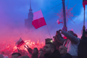 PiS Poland, Polish nationalism, Poland anti-defamation law, Britain First news, Pride and Modernity far right group, Poland far-right march, English Defence League news, Tommy Robinson news, nationalism in Europe, Poland neo-Nazi groups