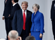 Donald Trump news, Trump latest, Trump UK visit, Trump baby balloon, Trump baby blimp, Theresa May news, Trump Brexit comments, US-UK relations, US news, US politics