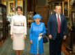 Donald Trump news, Trump UK visit, Trump meets Queen Elizabeth, Trump latest, Brexit news, Queen Elizabeth news, UK news, US politics, George Bush, Iraq War