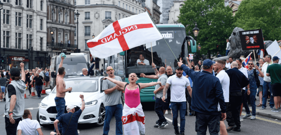 Sir Oswald Mosley, UK fascism, Islamophobia in Britain, Boris Johnson news, Brexit news, EU referendum news, UK politics news, Europe news, radial-right parties Europe, Tommy Robinson views