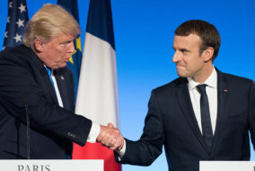 Donald Trump news, Donald Trump NATO comments, Donald Trump, Emmanuel Macron, Emmanuel Macron news, France, European Union army, European army, European News, NATO