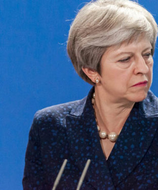 Theresa May's Brexit Ship Is Going to Sink