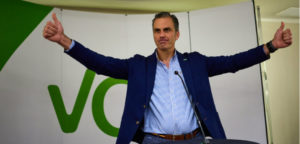 Spain news, Spain politics, Spain political news, Vox Spain, far-right parties Europe, Spain far-right, Podemos Spain, Catalonia independence, Vox Andalucia, Vox party Spain