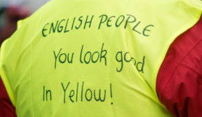 Yellow Vests news, yellow vests protests, yellow vests France, yellow vests UK, yellow vests Macron, yellow vests far-right, yellow vests Brexit, gilets jaunes France, gilets jaunes protests