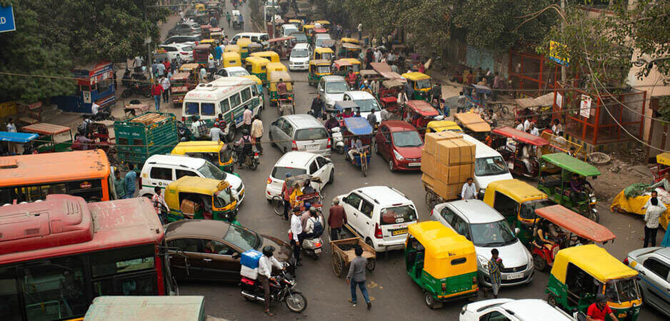 India, Indian news, India news, news on India, pollution in India, congestion in India, New Delhi, traffic in India, South Asia, South Asia news