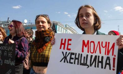 Is Russia Ready for Its Own Me Too Movement?