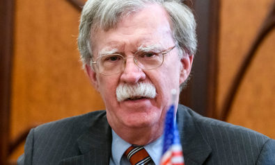 John Bolton's Lesson in the American Value of Self-Interest