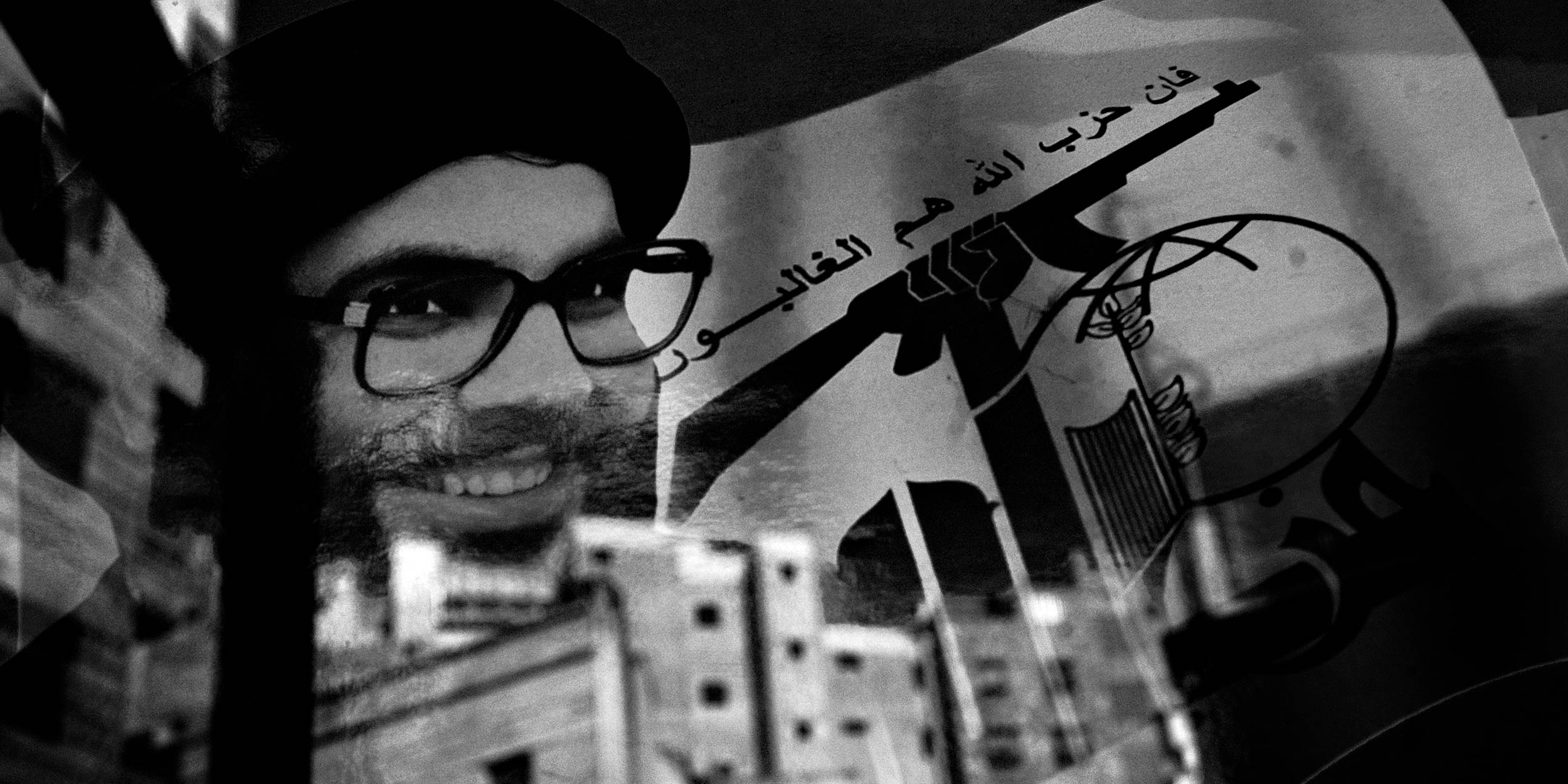 A poster of Hassan Nasrallah in Beirut, Lebanon on 8/23/2006. © Umut Rosa / Shutterstock