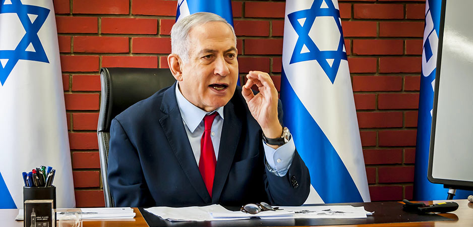 Benjamin Netanyahu, Binyamin Netanyahu, Netanyahu news, news on Netanyahu, Israel, Israel annexation West Bank, Palestinian, West Bank annexation, Deal of the century, Peter Isackson