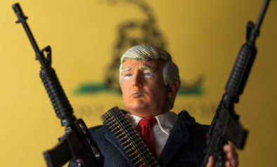 The US Presidential Election and the Armies of the Night