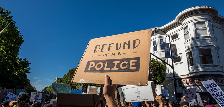 Ryan Skinnell, defund the police, what is defund the police, police reform US, Black Lives Matter protests, police reform US election 2020, militarization of police, W.E.B. Du Bois police reform, does defund the police work, Bertrand Russell police reform