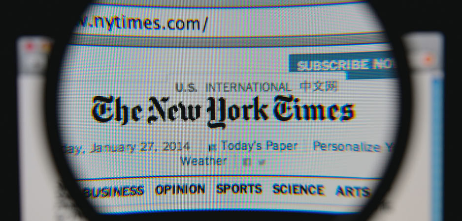 The New York Times, The NYT, Russiagate, Russia, Russia news, New York Times Russia, US politics, US news, Russia hacking, Peter Isackson