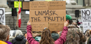 Barbara Molas, Centre for Analysis of the Radical Right, Canada COVID-19 news, Canada radical right, Canada anti-mask movement, March to Unmask Canada, Canada COVID-19 restrictions, Canada laicite, Canada anti-mask protests, Canada QAnon conspiracy