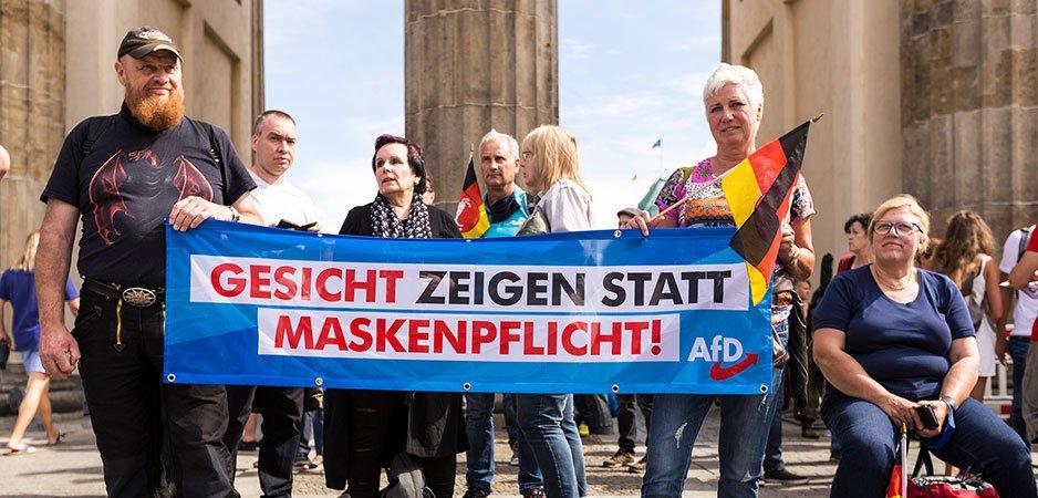 AfD, AfD news, Germany news, German news, Alternative for Germany, Germany coronavirus skeptics, Armin Laschet, Angela Merkel, Michael Zeller, European news