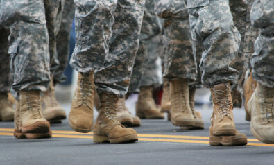 Some Boots on the Ground Leave Odd Footprints